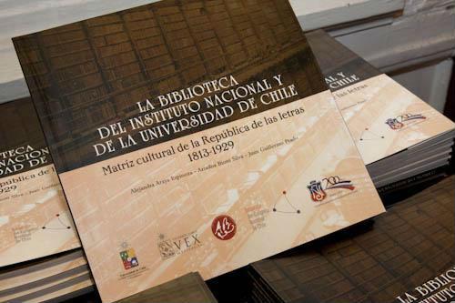 La Biblioteca del Instituto Nacional y de la Universidad de Chile, Matriz Cultural de la República de las Letras 1813-1929