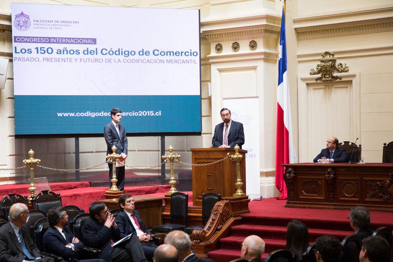 Conmemoran los 150 años del Código de Comercio en el ex Congreso
