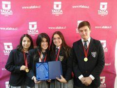 Equipo del Liceo Comercial Diego Portales de Rancagua ganó la Final Regional del Torneo Delibera