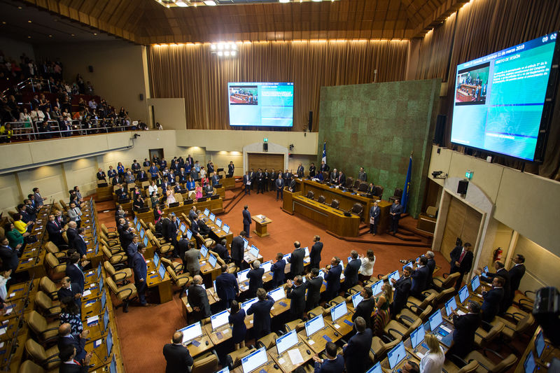 En Valparaíso se realizó la ceremonia de juramento de los nuevos senadores  y diputados — Biblioteca del Congreso Nacional de Chile