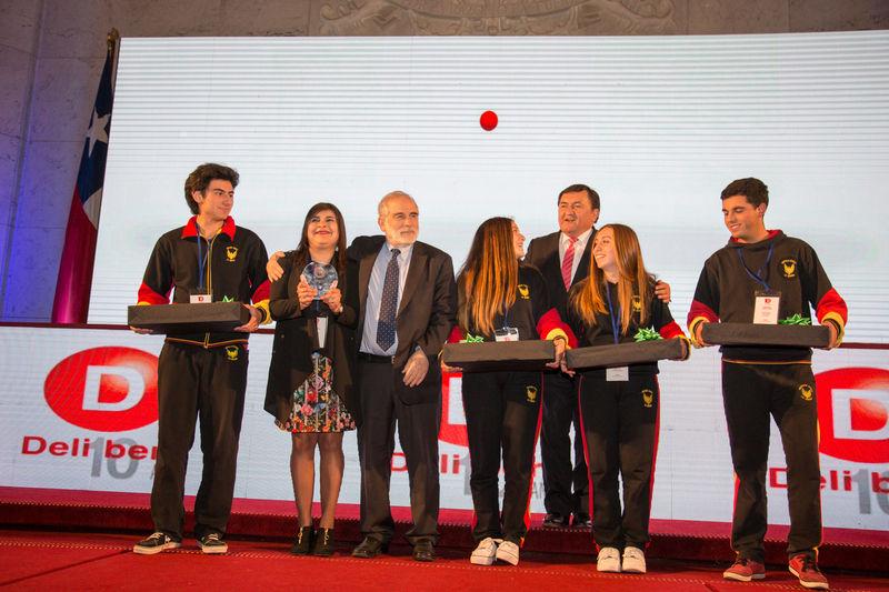 Equipo ganador de Final Nacional Torneo Delibera 2018