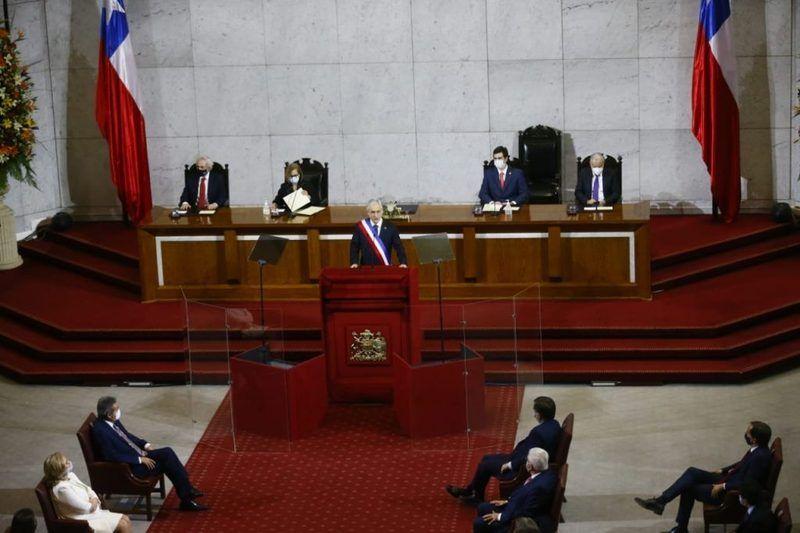 Presidente Piñera rindió su Cuenta Pública ante el Congreso Nacional