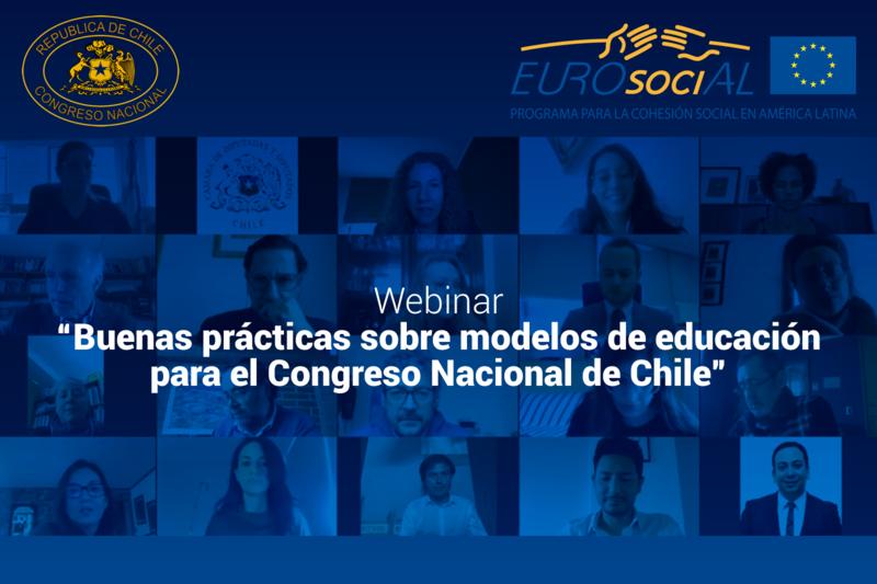 De forma virtual se realizó taller internacional sobre Buenas prácticas en modelos de educación para el Congreso Nacional