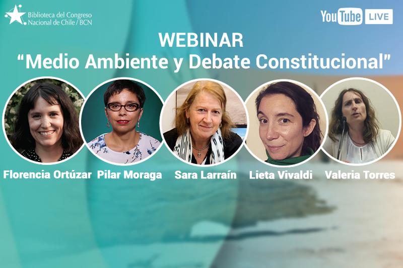 BCN realizó conversatorio Medio Ambiente y debate Constitucional