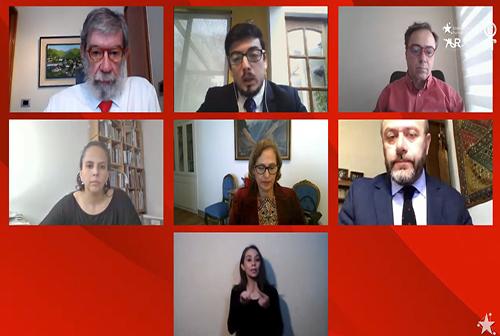 """Charla """"El sistema presidencial y la descentralización"""""""