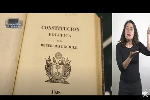 Constituciones Políticas - Constitución Política de la República de Chile de 1828.