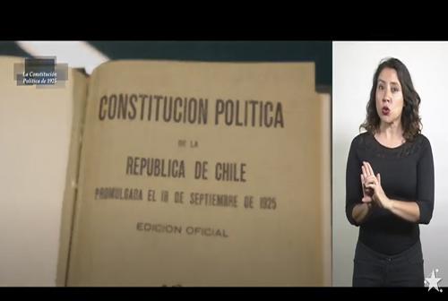 Constituciones Políticas - La Constitución Política de 1925.