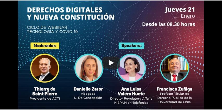 Webinar ACTI: Derechos Digitales y Nueva Constitución.