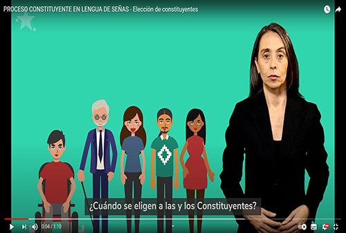 Elección de constituyentes.
