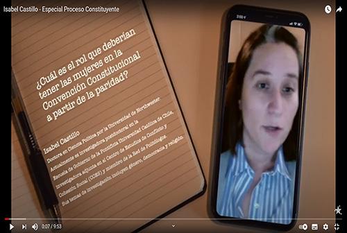 Isabel Castillo - Especial Proceso Constituyente.