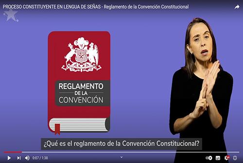 Reglamento de la Convención Constitucional