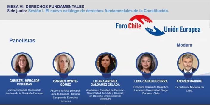 Mesa VI: Derechos Fundamentales. SESIÓN I: El nuevo catálogo de derechos fundamentales de la Constitución.