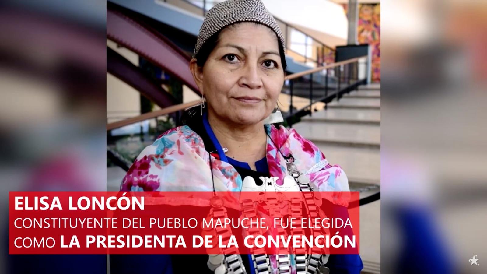 Convención Constitucional 2021 - Discurso inaugural de la presidenta Elisa Loncón Antileo