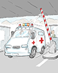 Exención del pago de peaje para vehículos de emergencia