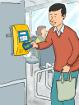 Pago de tarifa en el transporte público y registro de infractores