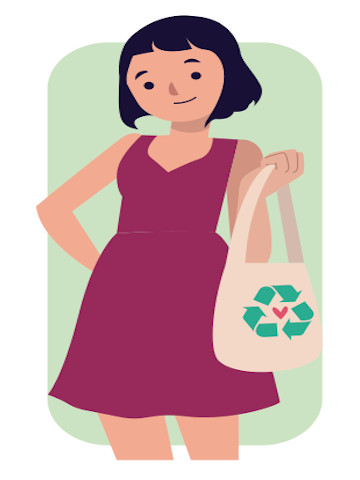 Prohibición de bolsas plásticas en el comercio