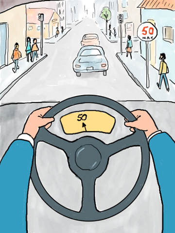Velocidad vehicular