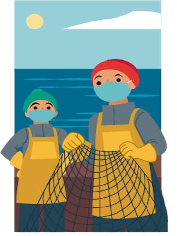 Apoyo a la pesca artesanal en pandemia