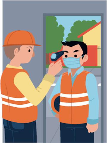 Seguridad sanitaria laboral y Covid-19