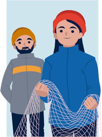 Cuota de género en la integración de los organismos vinculados a la pesca y en el registro pesquero artesanal