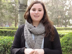 """Nattaly Rojas: """"Quedarme a estudiar en China ha sido la mejor decisión que he tomado"""""""
