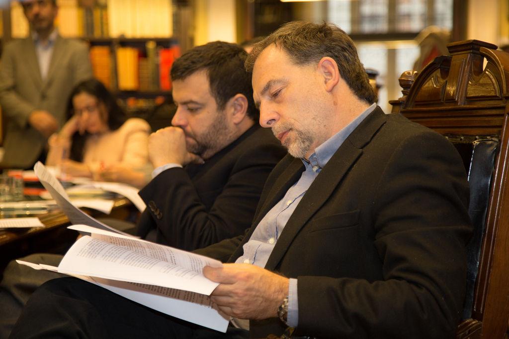 """Parlamentarios participan del cierre del curso """"Desafíos en legislación y ciencia"""" de la BCN y la Universidad de Chile"""