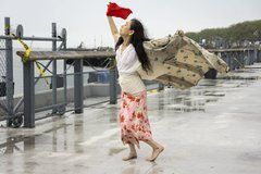 """""""Un cuerpo en lugares"""" la obra de la  japonesa Eiko Otake que combina danza y fotografía"""