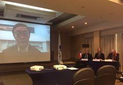 """A través de videoconferencia desde Beijing economista abordó """"la nueva normalidad"""""""