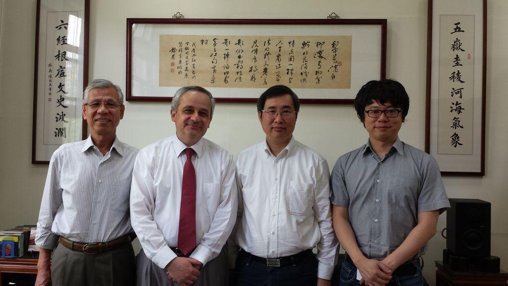 Marcos Jaramillo dio cuenta de su experiencia académica en Taipei