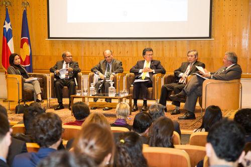 Embajadores Asean valoraron la incorporación de Chile en Tratado de Amistad y Cooperación