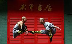 Monjes del templo Shaolin mostrarán la fuerza del Kung Fu