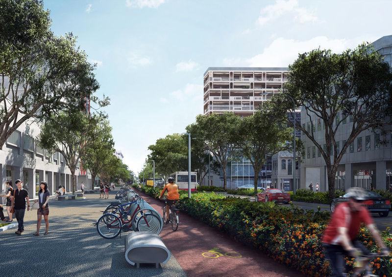 Conozca el plan nacional que protege a los ciclistas en Singapur