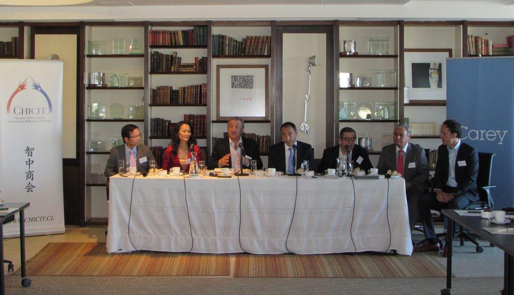 Mesa redonda de Chicit analizó relaciones culturales entre Chile y China