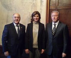Diputado Jorge Ulloa comentó detalles de su reciente visita a Colombia y Perú