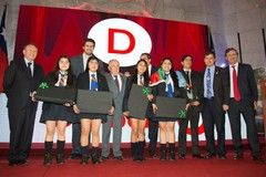 Alumnas del Complejo Educacional Padre Nicolás de Vilcún ganaron la final nacional del Torneo Delibera