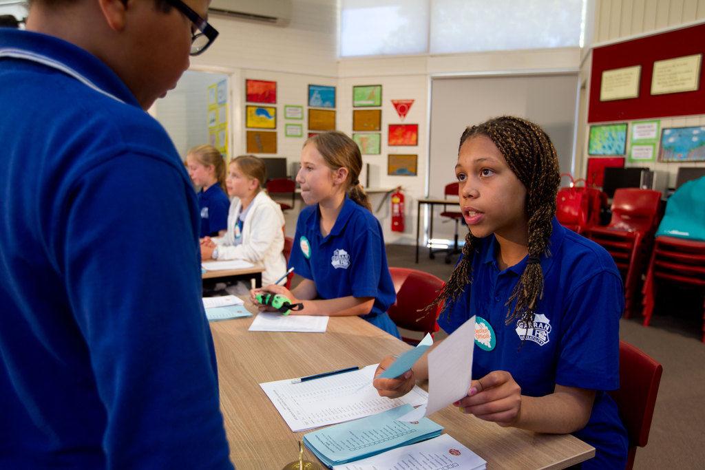 El programa que capacita a los niños australianos a participar en elecciones