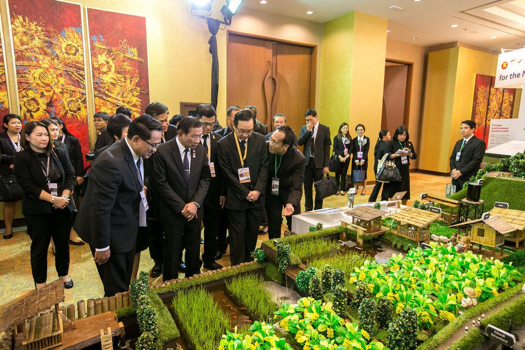 El sistema de agricultura sostenible en Tailandia que apunta a la seguridad laboral y alimentaria