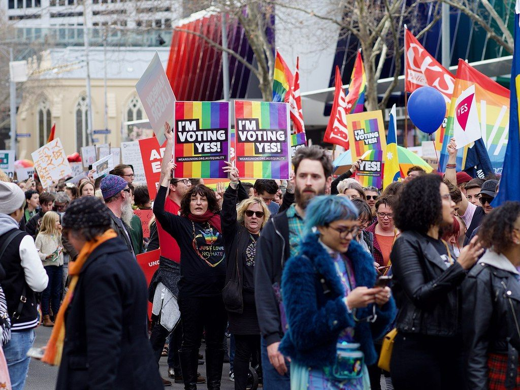 El referéndum consultivo que llevó a la aprobación del matrimonio igualitario en Australia