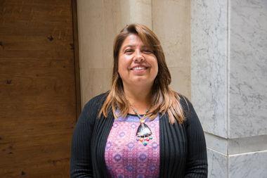 Diputada Claudia Mix analiza el Programa de Vacunación