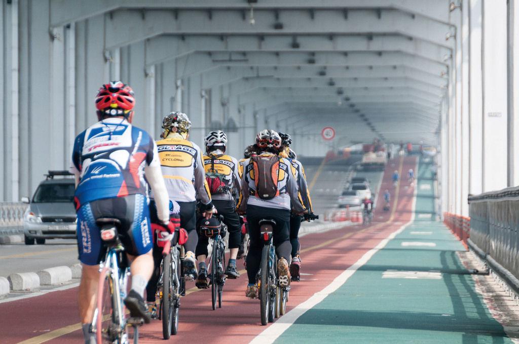 El plan en Corea que une ciudades a través de ciclovías