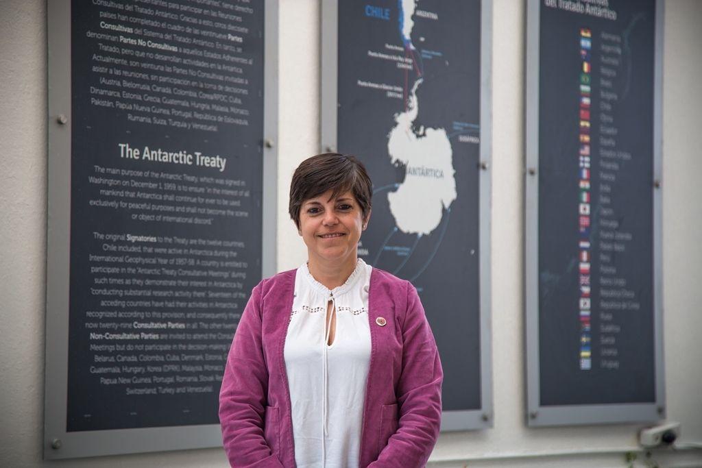 """Gabriela Roldán: """"En Nueva Zelandia hay una fuerte actividad de educación antártica"""""""