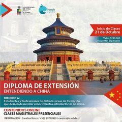 Curso de extensión enseñará idioma, cultura, política y economía china
