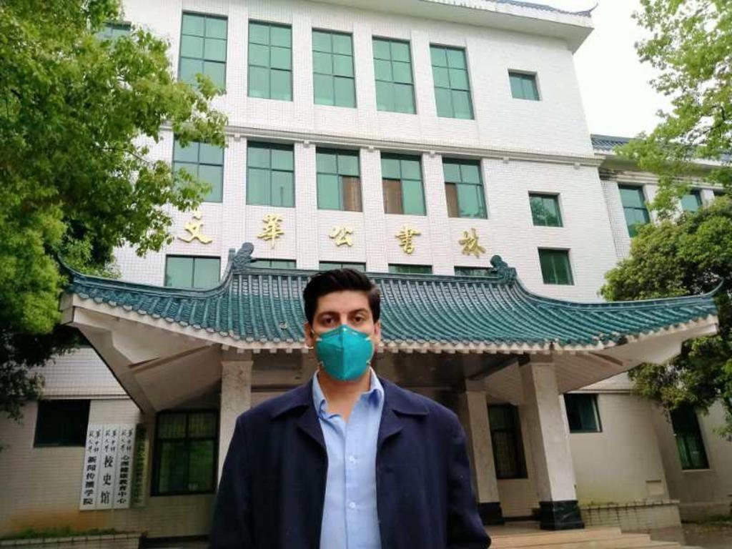 Cristián Pradenas comentó detalles del fin de la cuarentena en Wuhan