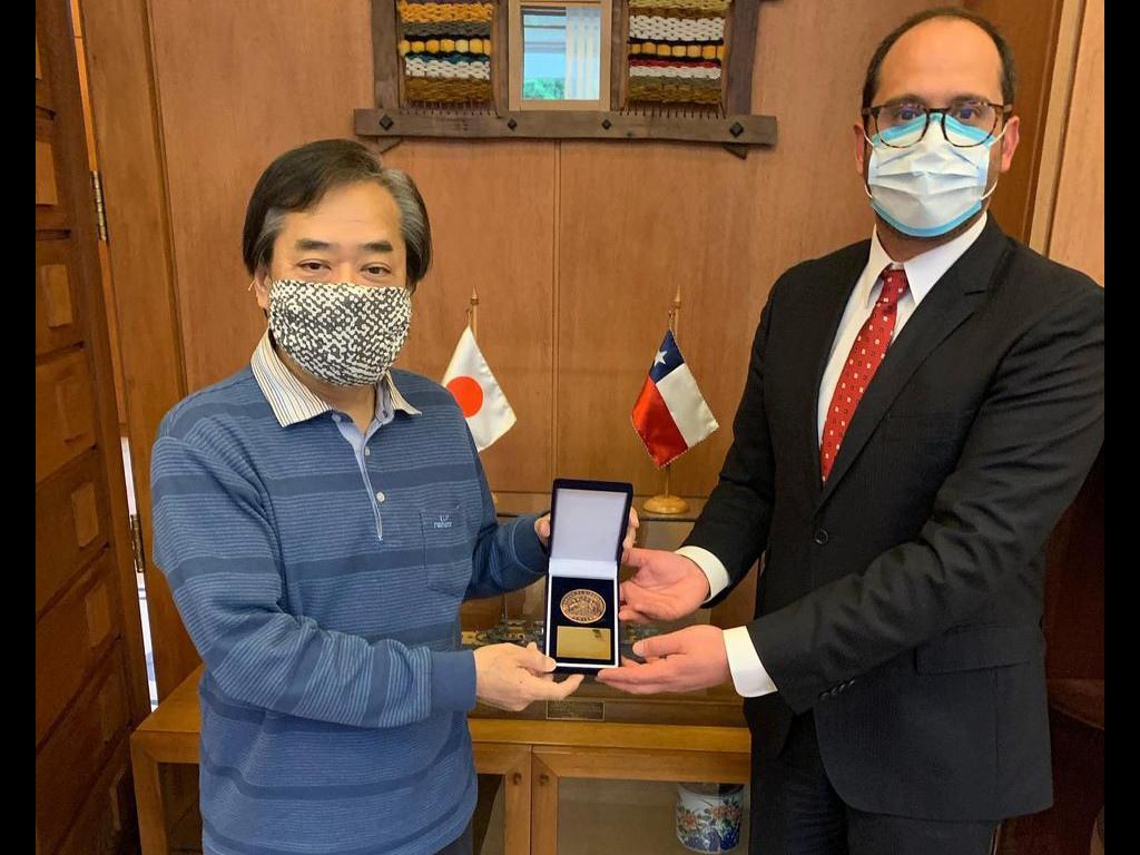 Embajador japonés Yoshinobu Hiraishi finaliza su notable misión en Chile