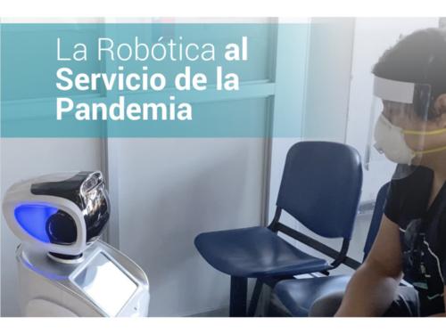 """""""Robótica al servicio de la pandemia"""": la nueva publicación de la mesa público-privada de robótica"""