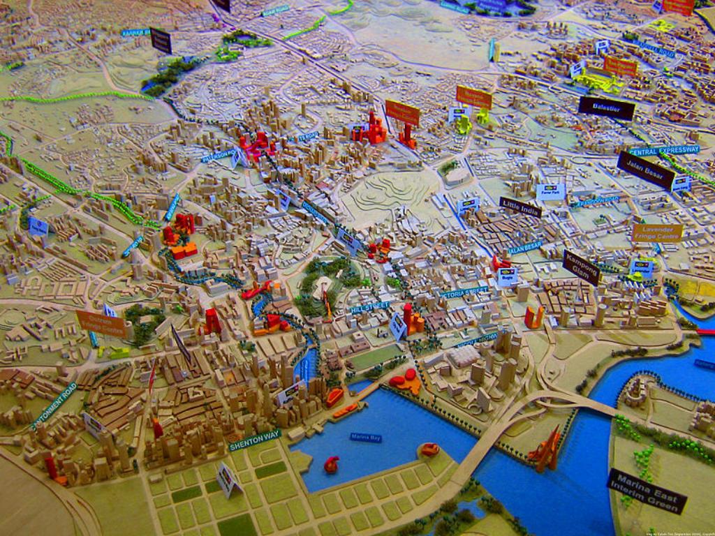 Planificación urbana en Singapur: participación y mirada de largo aliento