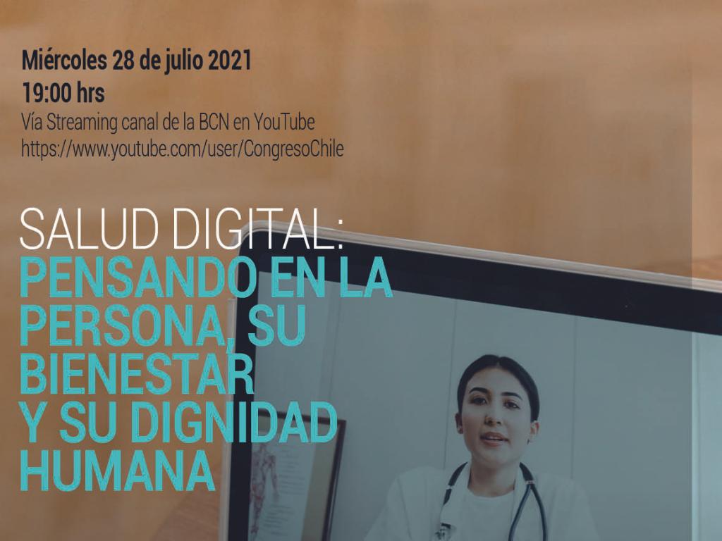 Conversatorio discutirá sobre salud digital para asegurar acceso a la salud
