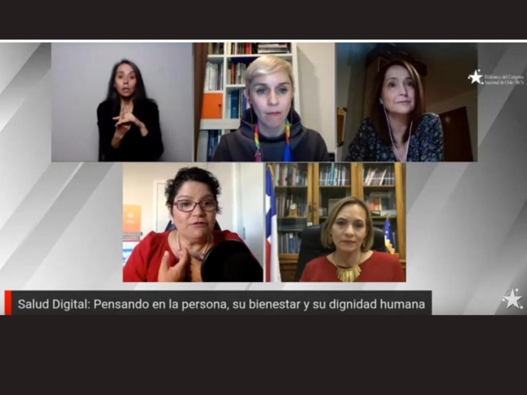 Imagen de la nota Conversatorio abordó oportunidades y desafíos de la salud digital en Chile