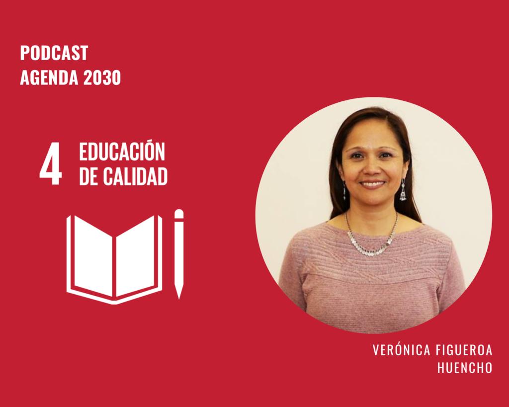 Imagen de la nota Agenda 2030 ODS 4: Verónica Figueroa Huencho y el derecho a la educación de calidad de niñas, niños y adolescentes indígenas